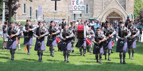artists and pavilion of wppb scotland pipe guest bands