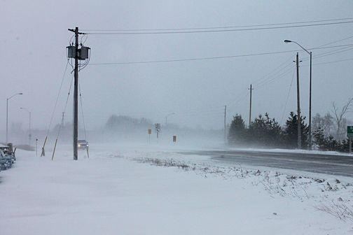Stormy winter weather continues in Kincardine area