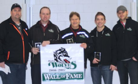 Ripley Wolves add three more names to the Wall of Fame