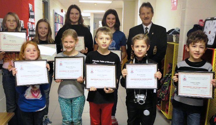 Kincardine Legion announces winners of Remembrance Day poster, literary contest