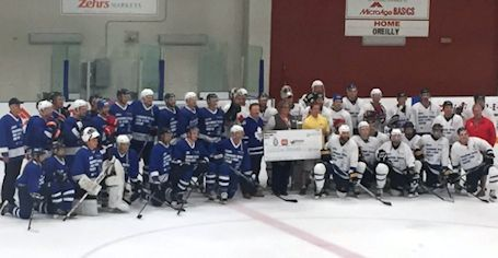 Hometown Heroes charity hockey game raises record $55,000