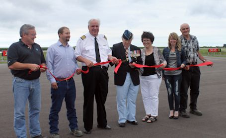Kincardine Airport grand opening held after main runway fixed