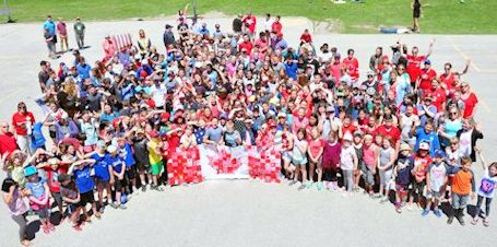 Huron Heights, Municipality of Kincardine mark Longest Day of Play