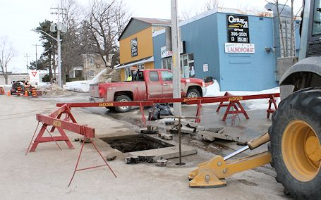 Total of 125 frozen waterlines in Kincardine