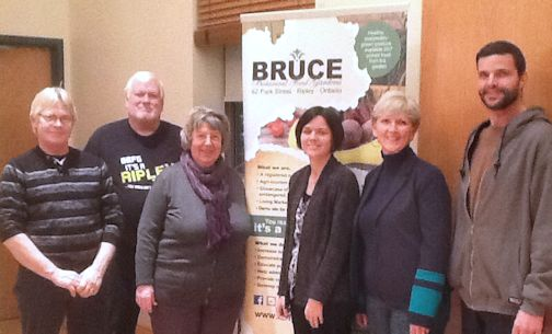 Bruce Botanical Food Gardens receive Trillium grant