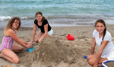 Sunny weather for youth council's Beach Bash