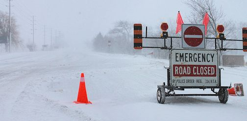 Winter storm persists in the Kincardine area